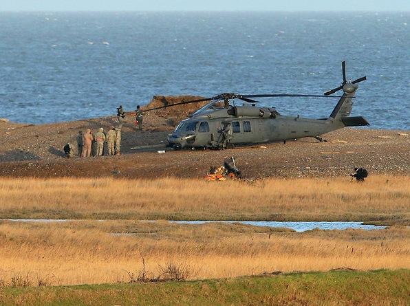 Black Hawk ВВС США после аварии