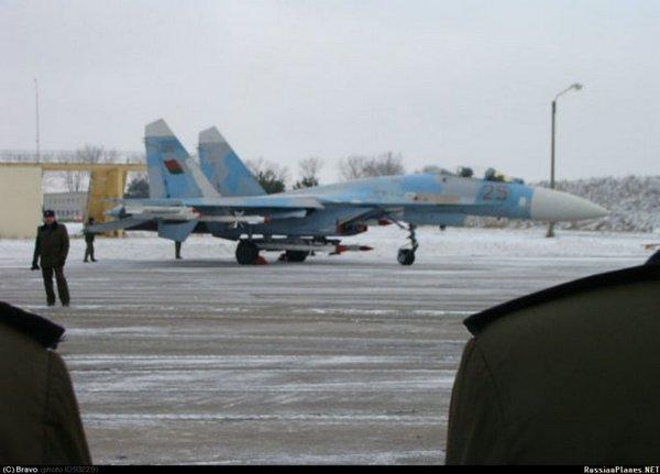 Су-27 ВВС Белоруссии