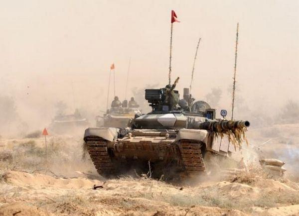 Т-90С ВС Индии