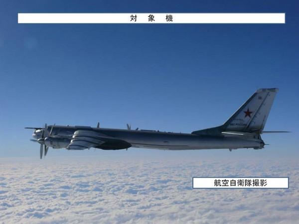 Сопровождение Ту-95МС (c) www.mod.go.jp