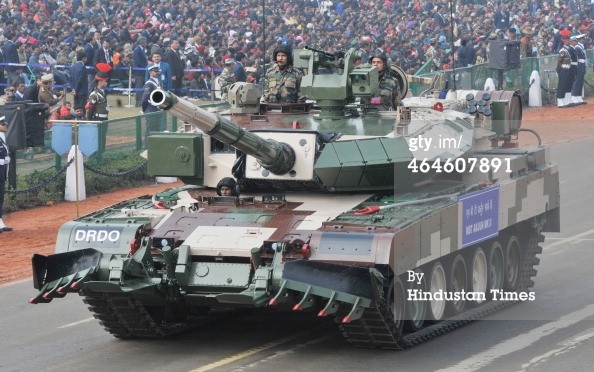 MBT Arjun Mark-II (c) www.gettyimages.com