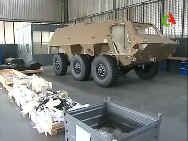 Сборка БТР Fuchs-2 в Алжире