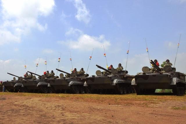 БМП-3Ф из состава партии в 37 машин, переданных морской пехоте Индонезии  (c) ВМС Индонезии
