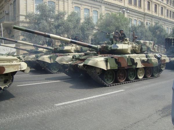 Т-90 ВС Азербайджана