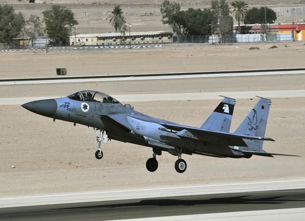 F-15I ВВС Израиля
