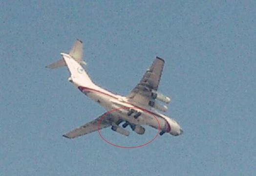 WS-20 на летающей лаборатории Ил-76 (c) sina.com.cn