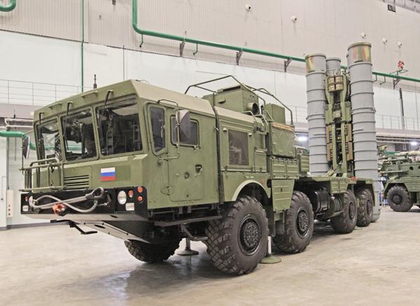 Пусковая установка 51П6А из состава системы С-400 (c) forums.eagle.ru