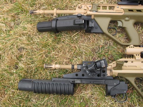 Винтовки EF88 с гранатометами ML40AUS и M203PI  (c) rogueadventurer.com
