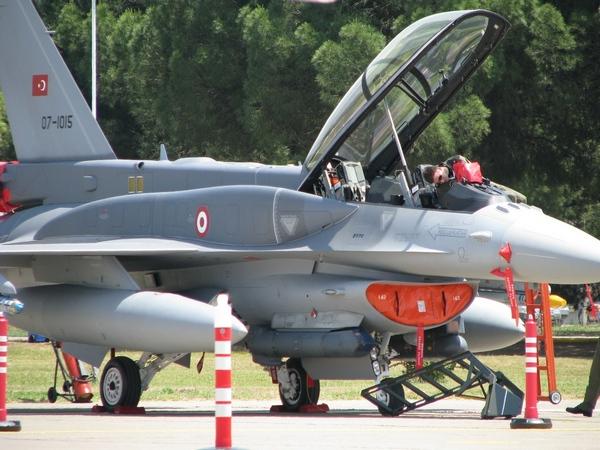 F-16D ВВС Турции (c) defence.pk