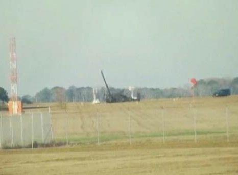 Упавший 16 января в штате Джорджия вертолет UH-60 Black Hawk фото: savannahnow.com