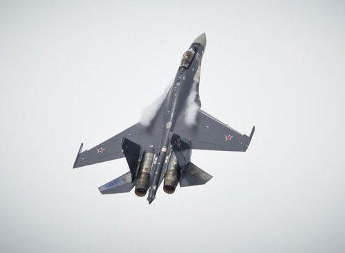 Су-35 ВВС России (c) www.militaryparitet.com