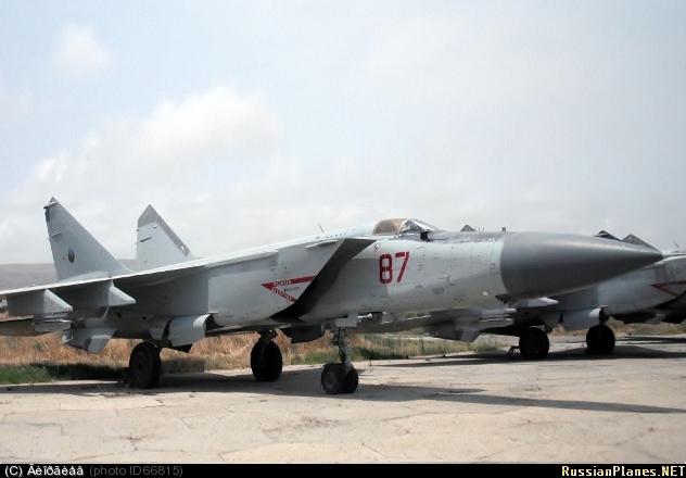 МиГ-25П ВВС Азербайджана (c) Владимир  russianplanes.net