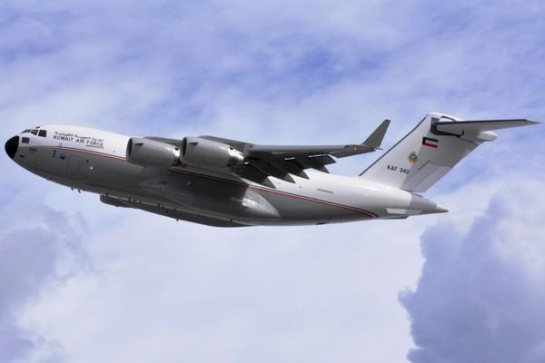 Boeing C-17A ВВС Кувейта  (c) Boeing