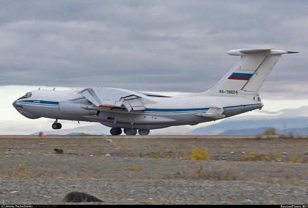 Ил-78М ВВС России (c) Алексей Резниченко / russianplanes.net