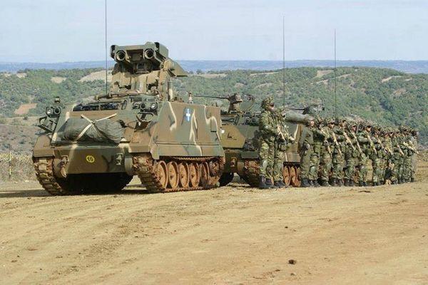 БМ на базе M113A1 ВС Греции