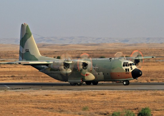 C-130H Hercules (c) www.timesofisrael.com