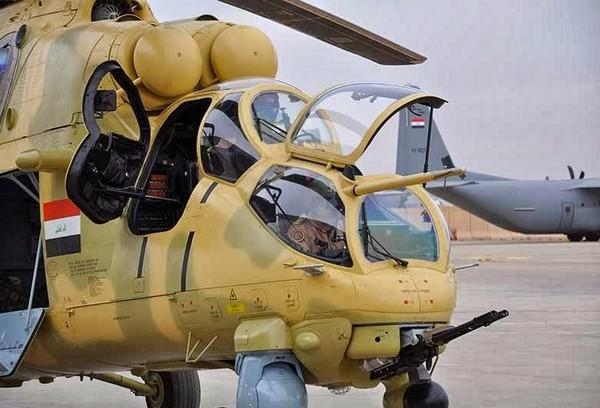 Ми-35 ВС Ирака
