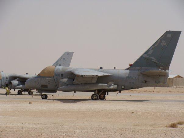 S-3A «Викинг» на хранении
