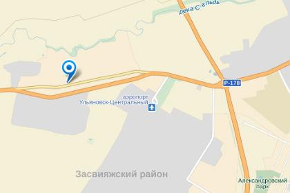 Примерный район обнаружения беспилотника