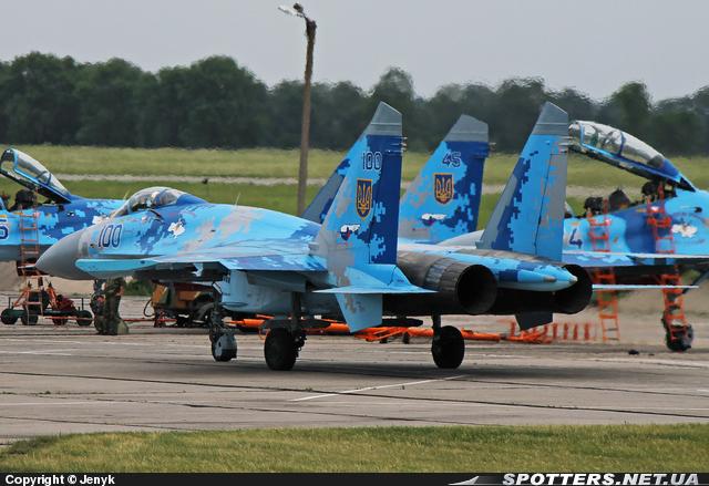 Су-27 ВС Украины (c) spotters.net.ua