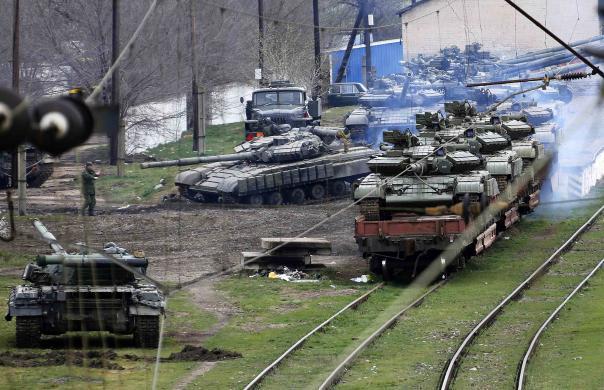 Т-64 ВС Украины в Крыму