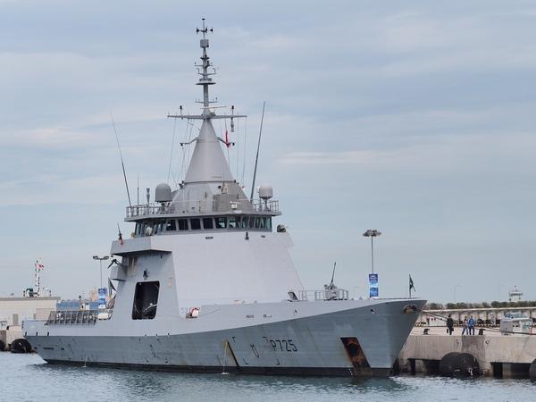 патрульный корабль P 725 LAdroit (вариант Gowind Patrol)