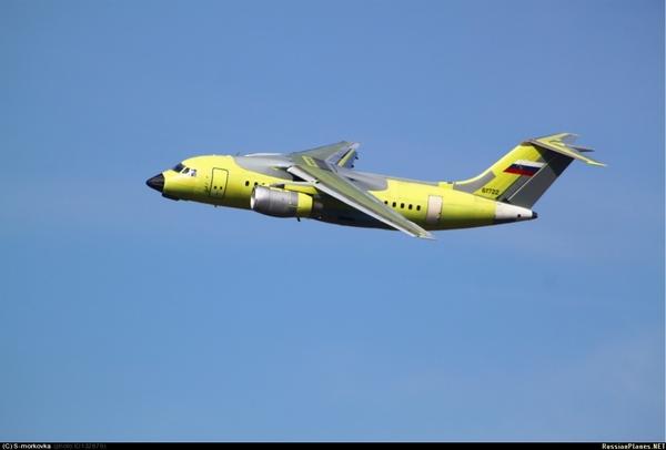 Ан-148-100Е (c) S-morkovka / russianplanes.net