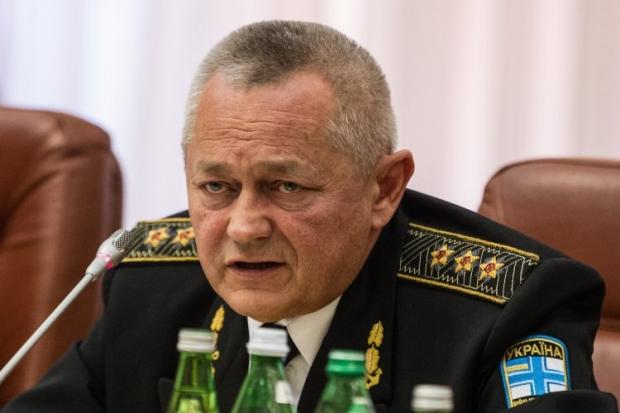 Глава Минобороны Игорь Тенюх  Украины