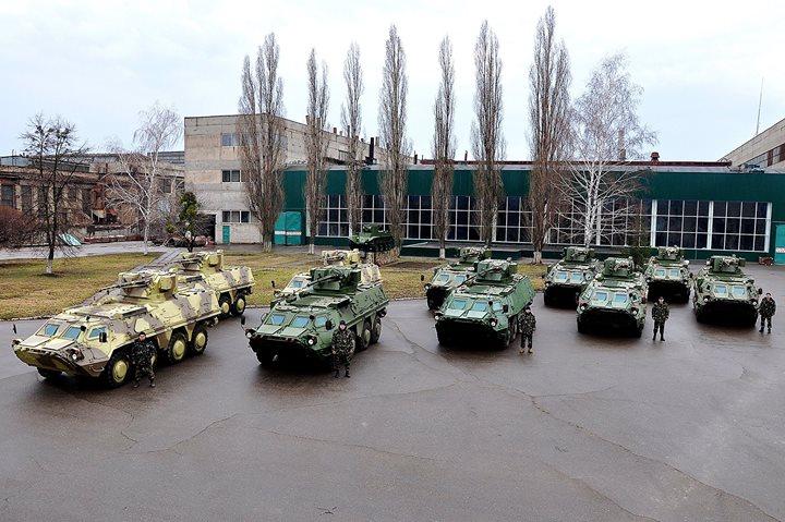 БТР-4 Национальной Гвардии Украины (c) Арсен Аваков