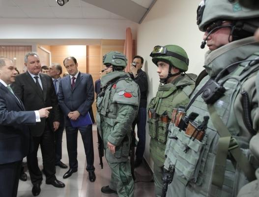 Новая экипировка «Легионер» для подразделений ФСБ