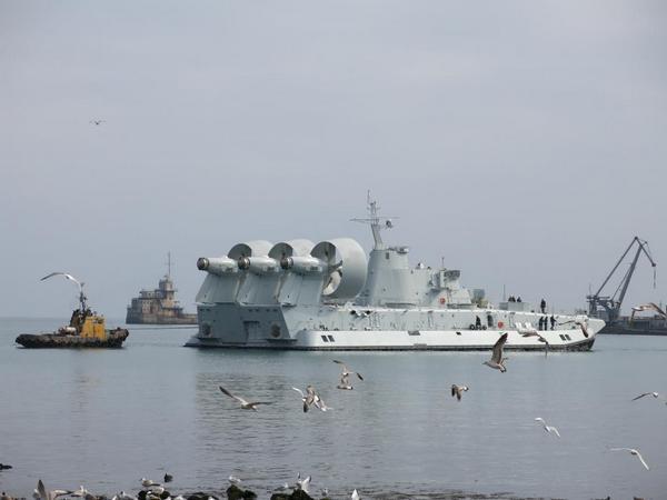 десантный корабль на воздушной подушке проекта 958 «Бизон»