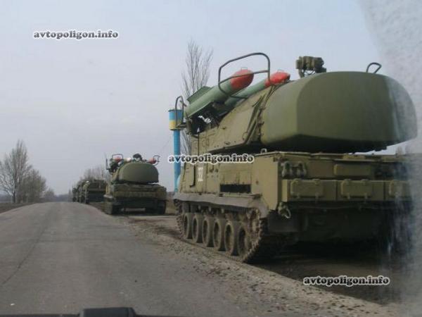 Системы ПВО Бук ВС Украины