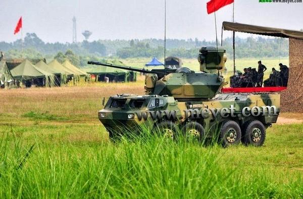 Новая китайская 35-мм ЗСУ