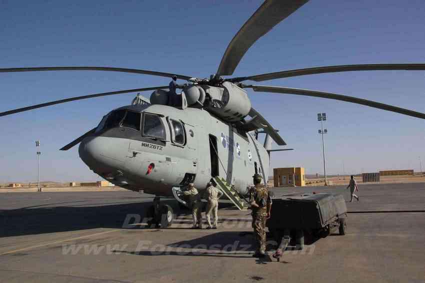 Ми-26Т2 на испытаниях в Алжире (c) bmpd.livejournal.com