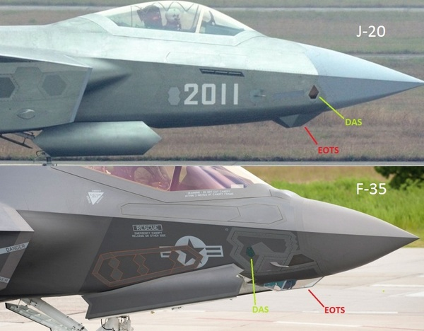 фотографии китайского предсерийного самолета J-20