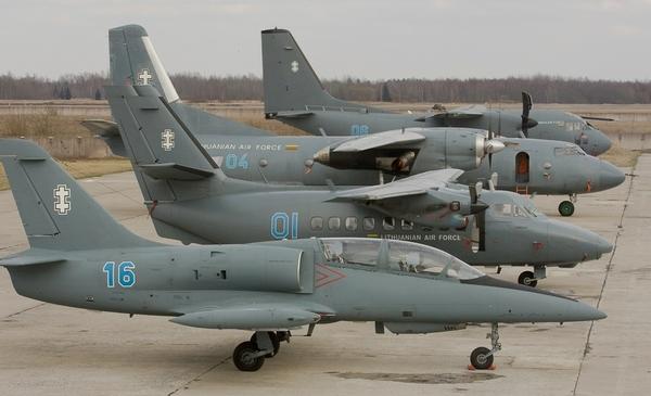 Самолеты ВВС Литвы