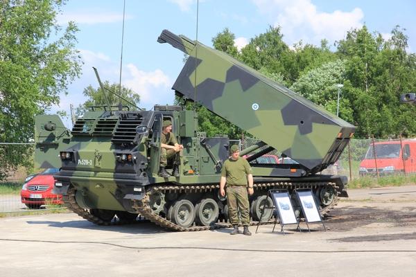 M270 MLRS ВС Финляндии