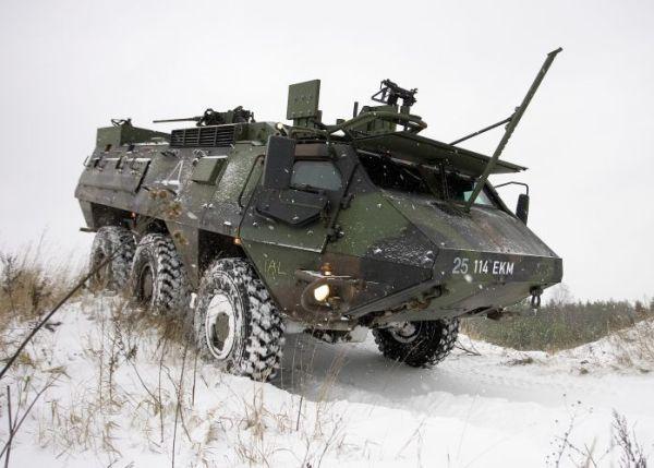 Sisu XA-188 ВС Эстонии