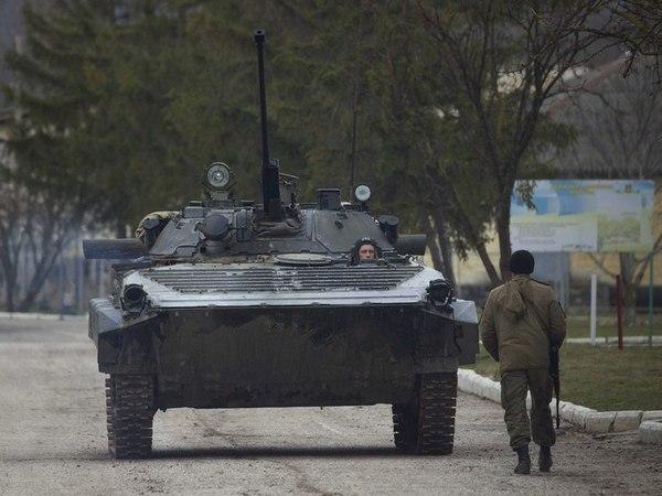 БМП-2 ВС Украины в обороне