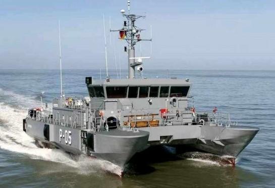 патрульный корабль типа «Скрунда»