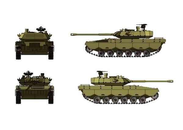 проект танка от  PT Pindad