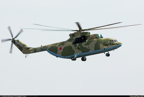 Ми-26 (c) (с) Михаил Мизикаев / russianplanes.net