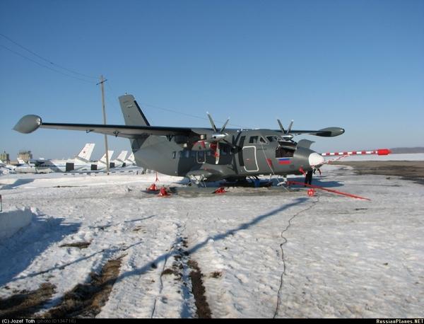 L-410UVP-E20 ВВС России (c) Jozef Toth / russianplanes.net