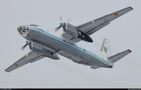 Ан-30 ВС Украины (c) Евгений Волков  russianplanes.net