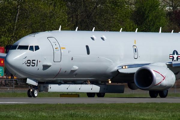 P-8A Poseidon с РЛС AN/APS-149