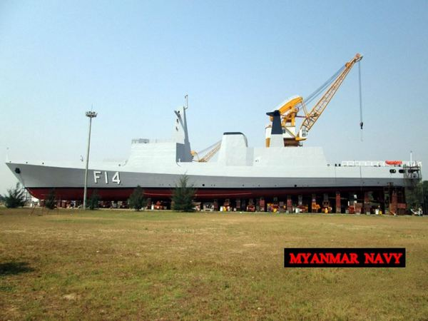 ВМС Мьянмы фрегата F 14 Sin Phyu Shin