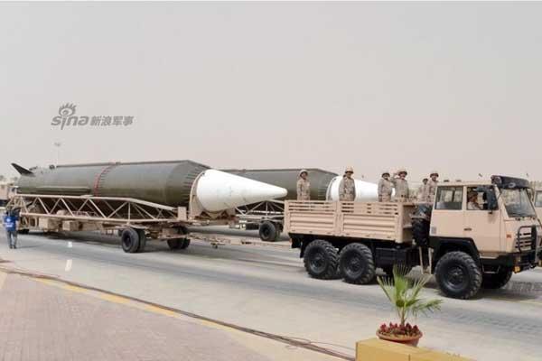 DF–3 ВС Саудовской Аравии
