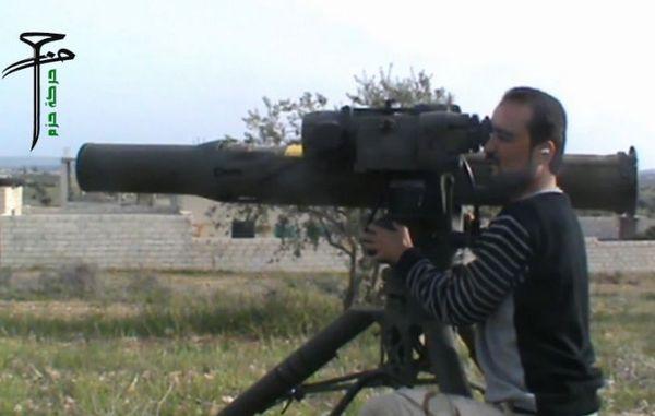 ПТРК TOW в Сирии