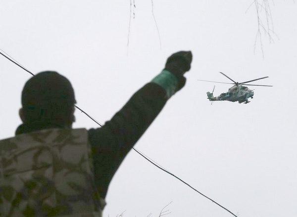 Над городом Ми-24 (c) GLEB GARANICH