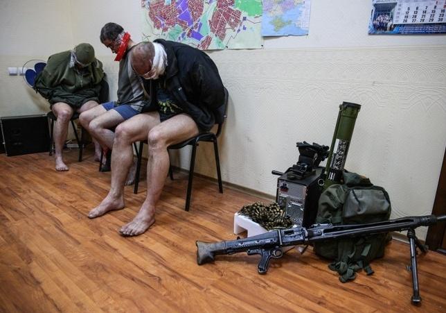 Сотрудники СБУ в Славянске